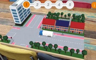 Veilig Verkeer Nederland leert via gratis app kinderen en ouders over gevaren 'dode hoek'